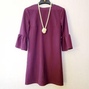 She + Sky  Bell Sleeve Mini Knit Dress